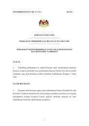 Perubahan Skim Perkhidmatan Pegawai Rendah Polis dan ...