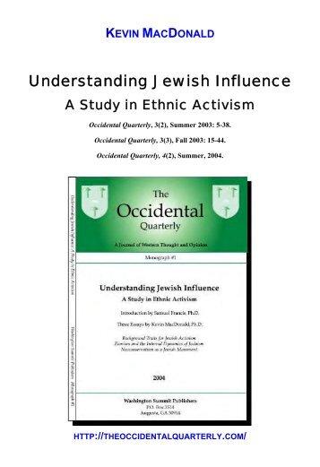 Understanding Jewish Influence - Adolf Hitler and Third Reich Media