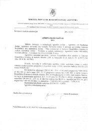 biudžeto išlaidų sąmatos vykdymo 2011 m. gruodžio 31 d. metinė ...