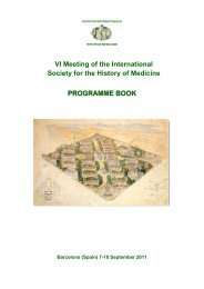 PROGRAMME BOOK VI Meeting of the International Society for the ...