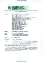 Tindakan tatatertib penjawat awam hasil laporan SPRM - JPBD
