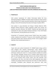 Garis Panduan Keselamatan ICT Jabatan Perancangan - JPBD