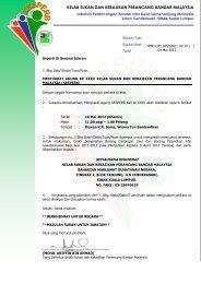 Surat & Borang Usul Mesyuarat Agong KESPERB - JPBD