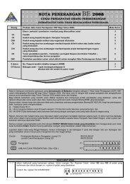 Nota Penerangan BE 2008 - Lembaga Hasil Dalam Negeri