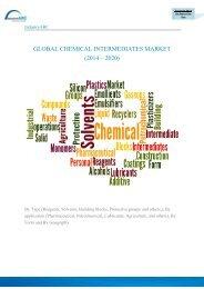 GLOBAL CHEMICAL INTERMEDIATES MARKET (2014 – 2020)