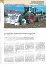 Stehr Bodenstabilisierungsfräse SBF 24-2