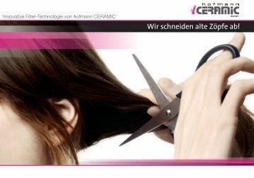 Download: Broschüre »Innovative Filter ... - Hofmann Ceramic