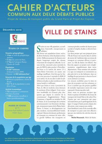 S ance du conseil munici for Piscine de stains