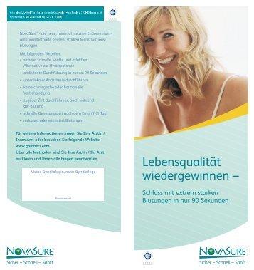 Schluss Mit Extrem Starken Blutungen - Hologic Deutschland GmbH