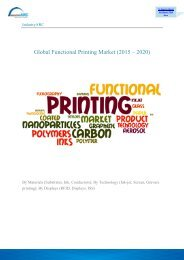 Global Functional Printing Market (2015 – 2020)