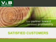 SATISFIED BUSINESS PARTNERS - VAB Solutions