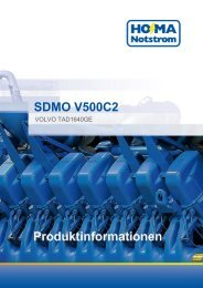 SDMO V500C2 - HO-MA-Notstrom