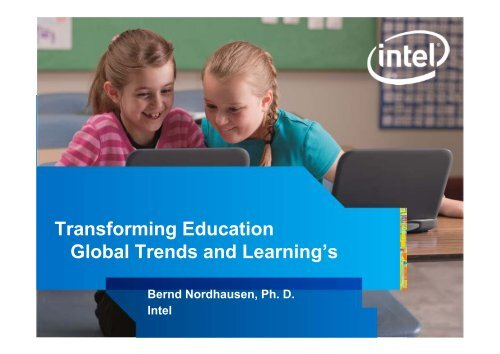 Transforming Education Global Trends and Learning's