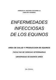 enfermedades infecciosas de los equinos - Facultad de Ciencias ...