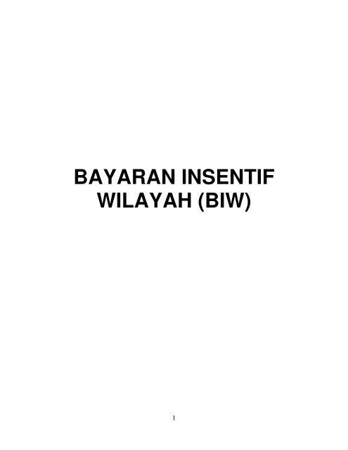 Bayaran Insentif Wilayah Biw Jabatan Akauntan Negara Malaysia