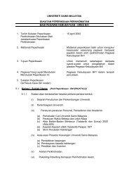 Pegawai Kebudayaan (B41) - Jabatan Pendaftar - Universiti Sains ...