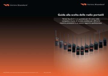 Guida alla scelta delle radio portatili