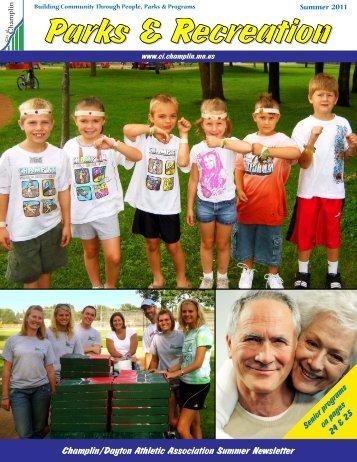 Champlin/Dayton Athletic Association Summer ... - City of Champlin