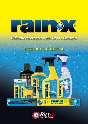 Rain-X Catalogue (PDF) - Rittco.com.au