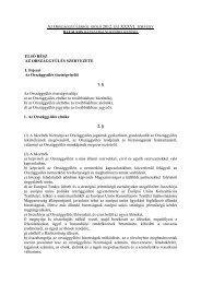 Az Országgyűlésről szóló törvény hatályos házszabályi ... - Parlament