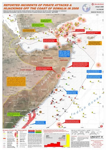 Reported Incidents of Pirate Attacks & Hijackings off the Coast of ...