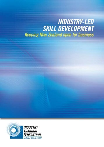 Industry-led Skill Development: Keeping NZ open for business