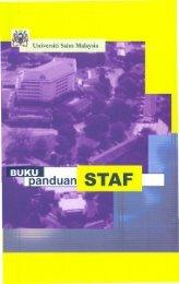 Buku Panduan Staf - Jabatan Pendaftar