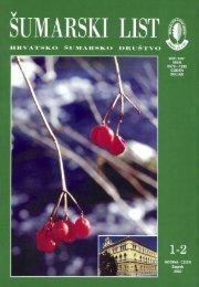 ÅUMARSKI LIST 1-2/2002 - HÅD
