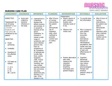 nursing care plan cs post op nursing crib nursingcrib com nursing care