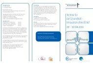 Innovation ohne Ethik? - Brancheninitiative Gesundheitswirtschaft ...
