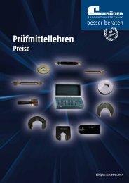 Prospekt: Prüfmittel - Schröder Produktionstechnik GmbH