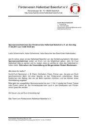 Sponsorenschwimmen für das Hallenbad Baienfurt