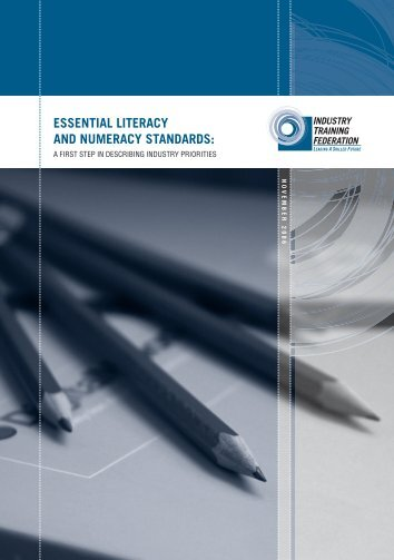 Essential Literacy and Numeracy Standards - Industry Training ...
