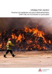 Utsläpp från olyckor