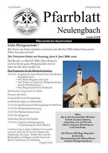 1,03 MB PDF in neuem Fenster öffnen - Pfarre Neulengbach