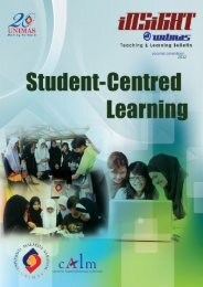 Insight V17 (.pdf) - Centre for Applied Learning and Multimedia