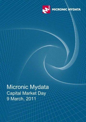 Micronic Mydata