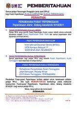 PERHATIAN - Universiti Sains Malaysia