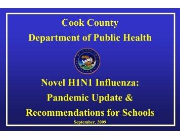 In Schools - Cook County Department of Public Health