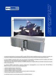 Specifiche tecniche - BPG Radiocomunicazioni