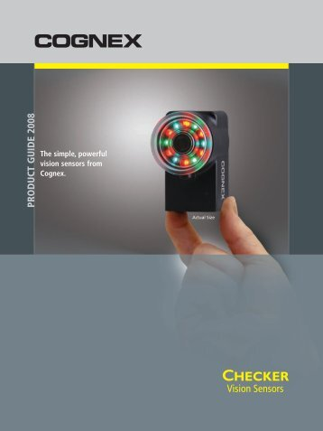 Cognex Checker Sensor Products - Cincinnati Automation