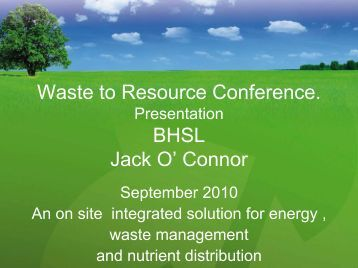Jack O'Connor, Biomass Heating Solutions.