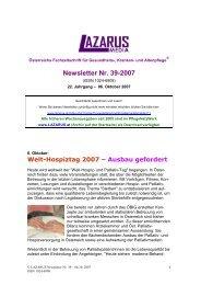 Lazarus Nr.39 - Nurse-Communication