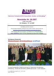 Newsletter Nr. 26-2007 - Nurse-Communication