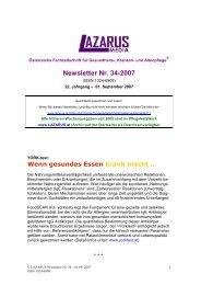 Newsletter Nr. 34-2007 - Nurse-Communication