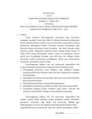 PERATURAN DAERAH KAB - Pemerintah Kabupaten Jembrana