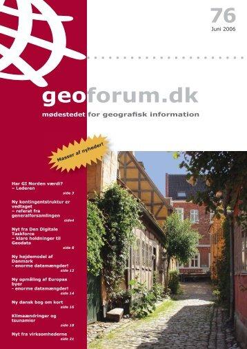 76 geoforum.dk - GeoForum Danmark