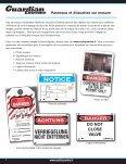Panneaux et étiquettes de sécurité - Master Lock Safety - Page 6