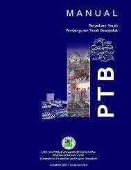 Manual Penyediaan Projek Pembangunan Tanah Bersepakat - JPBD