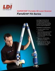 Surveyor FA-Series Technical Specs - Laser Design | GKS